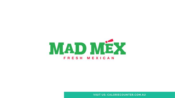Mad Mex Menu Calories