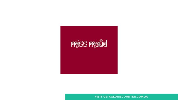 Miss Maud Menu Calories
