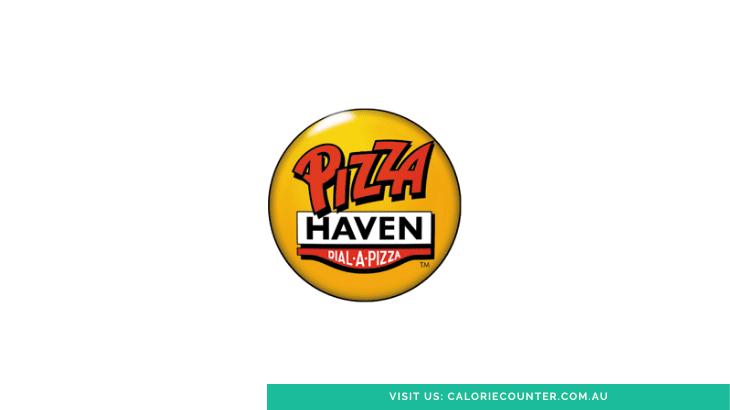 Pizza Haven Menu Calories