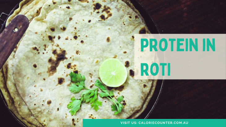 Protein in Roti
