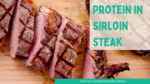 How Much Protein In Sirloin Steak