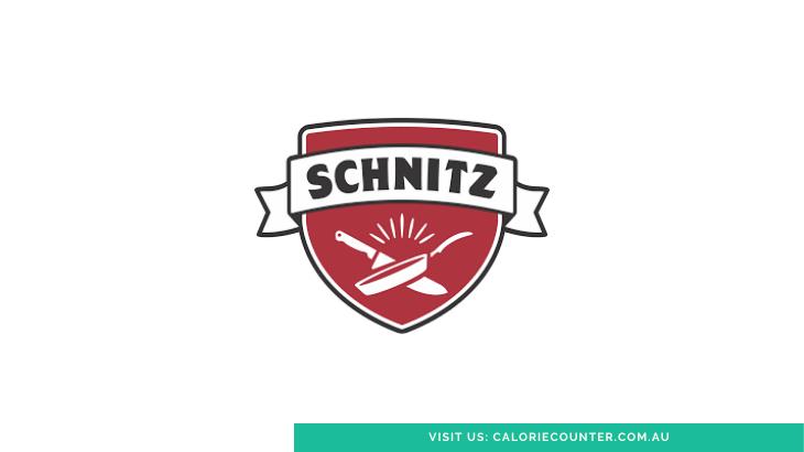 Schnitz Menu Calories
