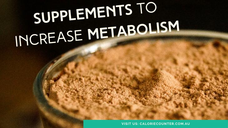 Fat Burners increase Metabolism