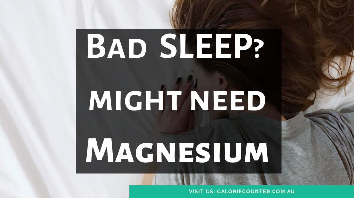 Healthy sleep needs magnesium