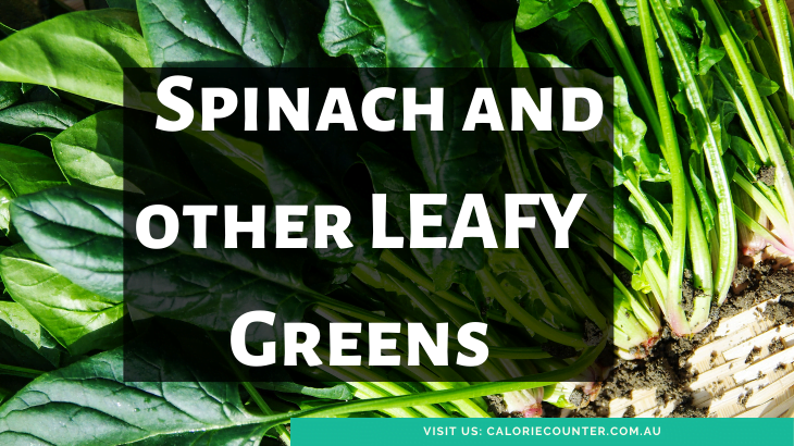 Leafy Greens high in magnesium